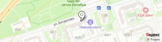 Аракс на карте Москвы