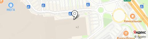 Элекснет на карте Химок