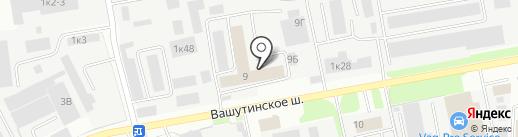 Фармзащита, ФГУП на карте Химок
