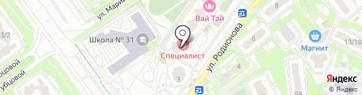 Праздничное агентство на карте Химок