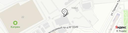 Алюминий ВПК на карте Химок
