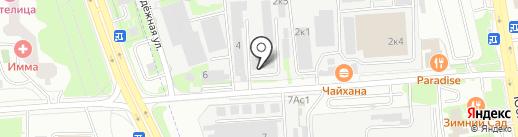 Сервис Химки на карте Химок