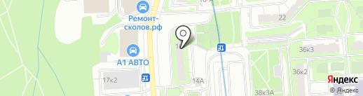 СтройТраст на карте Москвы