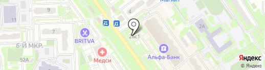 Крымское подворье на карте Химок
