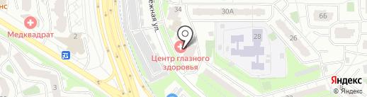 Рябиков С.В. на карте Химок