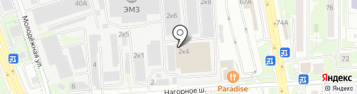 Центр Сити на карте Химок