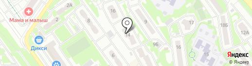 Объединение собственников на карте Химок