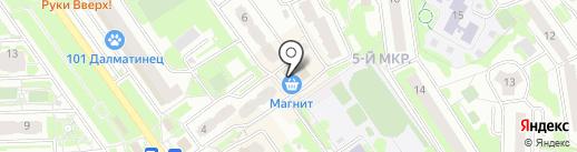 Магнит на карте Химок