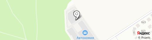 Мирам на карте Заречья