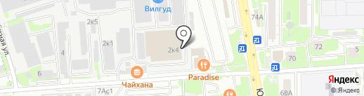 Транслес на карте Химок