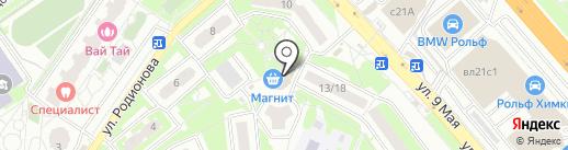Apple-room на карте Химок