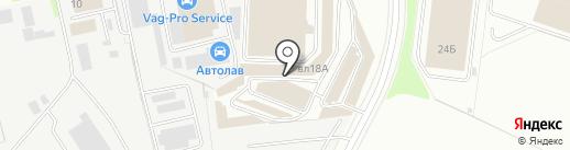 Магазин по продаже сухих строительных смесей на карте Химок