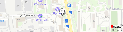 Химкиэлектротранс, МУП на карте Химок