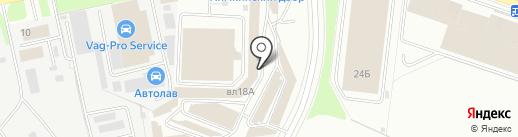 Магазин строительных и отделочных материалов на карте Химок