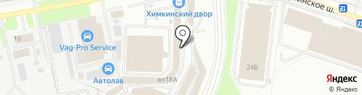 Магазин строительных материалов на карте Химок