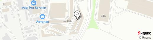 Магазин облицовочного материала для мебели на карте Химок
