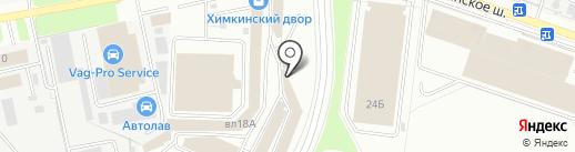 Магазин по продаже печей и каминов на карте Химок
