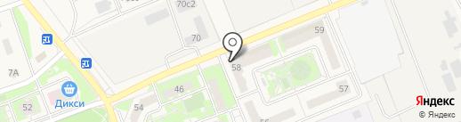 Банкомат, ВТБ Банк Москвы, ПАО Банк ВТБ на карте Щапово