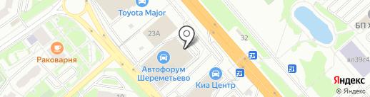 Автофорум Mercedes-Benz на карте Химок