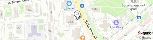 Медиа-Селект на карте Химок