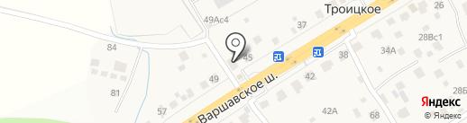 Мини-маркет на карте Троицкого