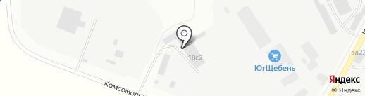 Транспортная компания на карте Чехова