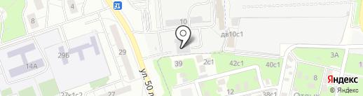 Форсаж-М на карте Москвы