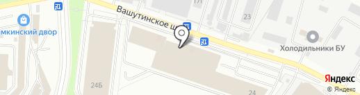 Терем на карте Химок