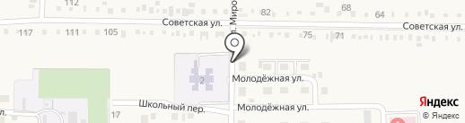 Администрация Первомайского сельского округа на карте Анапы