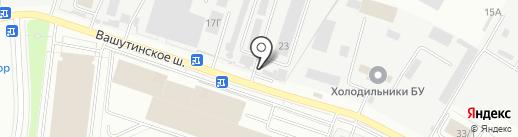 СПЕЦМЕДСНАБ ФМБА РОССИИ, ФГБУ на карте Химок