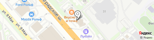 UNISAW на карте Химок
