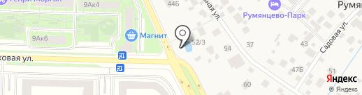 Продуктовый магазин на карте Румянцево