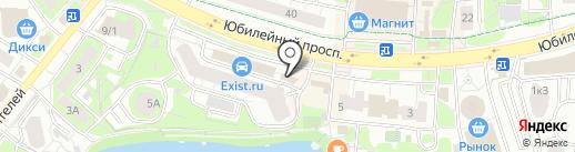 ОблВнешТур на карте Химок