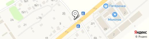 Автомойка на карте Троицкого