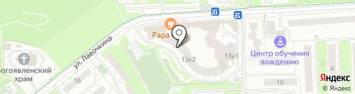 Знак на карте Химок