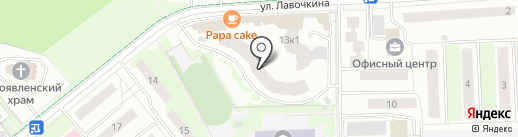 Cco.ru на карте Химок