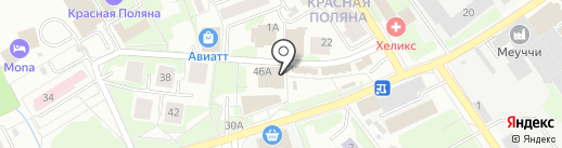 Светлана на карте Лобни
