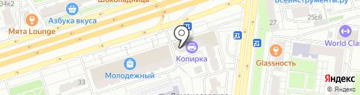 СФ-сервис на карте Москвы