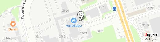 Autocrash на карте Москвы