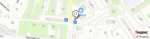 Первая полоса на карте Лобни
