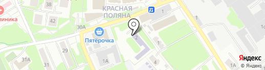 Лобненский учебный центр, АНО на карте Лобни