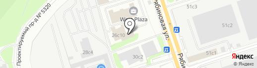 ТАЛМЕР на карте Москвы