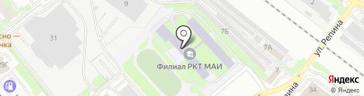 Московский авиационный институт (национальный исследовательский университет) на карте Химок
