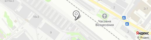 Гаражно-строительный кооператив №10 на карте Химок