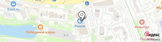 ЮНИСТРИМ на карте Химок