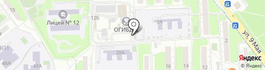 ВСК, САО на карте Химок