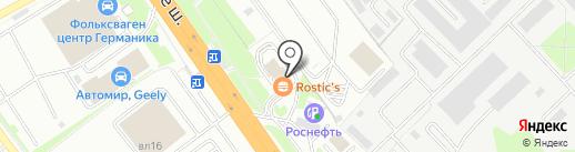 KFC на карте Химок