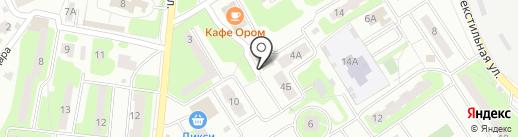 Школа искусств на карте Лобни