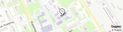 Детский сад №5 на карте Лобни