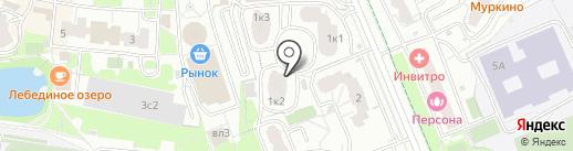 Вектор-А на карте Химок
